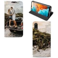 Standcase Hoesje Huawei Y6 2019 met eigen foto