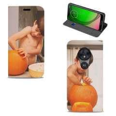 Standcase Hoesje Motorola Moto G7 Play met eigen foto
