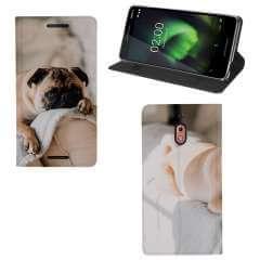 Standcase Hoesje Nokia 2.1 2018 met eigen foto