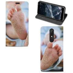 Standcase Hoesje Nokia 5.1 (2018) met eigen foto