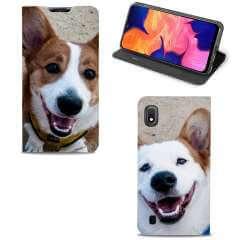 Standcase Hoesje Samsung Galaxy A10 met eigen foto