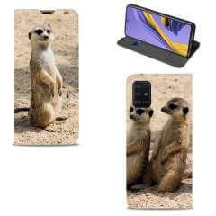 Standcase Hoesje Samsung Galaxy A51 met eigen foto