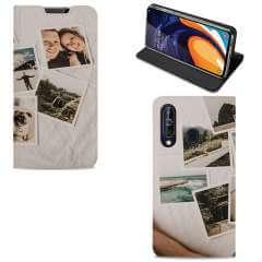 Standcase Hoesje Samsung Galaxy A60 met eigen foto