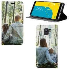 Standcase Hoesje Samsung Galaxy J6 (2018) met eigen foto