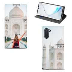 Standcase Hoesje Samsung Galaxy Note 10 met eigen foto