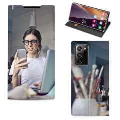 Standcase Hoesje Samsung Galaxy Note 20 Ultra met eigen foto