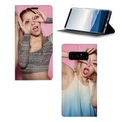 Standcase Hoesje Samsung Galaxy Note 8 met eigen foto
