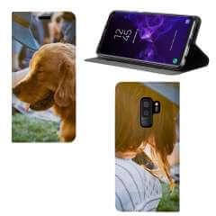 Standcase Hoesje Samsung Galaxy S9 Plus met eigen foto