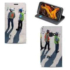 Standcase Hoesje Samsung Galaxy Xcover 4s met eigen foto