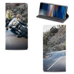 Standcase Hoesje Sony Xperia 10 met eigen foto