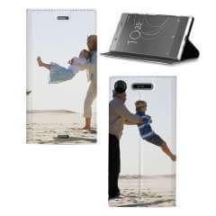 Standcase Hoesje Sony Xperia XZ1 met eigen foto