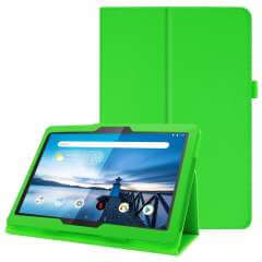 Tablethoes Lenovo Tab M10 Groen met Standaard