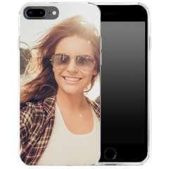 TPU Hoesje Apple iPhone 7 Plus | 8 Plus met eigen foto