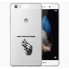 TPU Hoesje Huawei Ascend P8 Lite met eigen foto