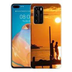 TPU Hoesje Huawei P40 met eigen foto