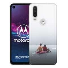 TPU Hoesje Motorola One Vision met eigen foto