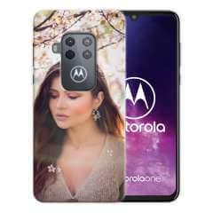 TPU Hoesje Motorola One Zoom met eigen foto