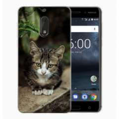 TPU Hoesje Nokia 6 met eigen foto