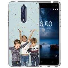 TPU Hoesje Nokia 8 met eigen foto