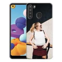TPU Hoesje Samsung Galaxy A21 met eigen foto