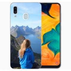 TPU Hoesje Samsung Galaxy A30 met eigen foto