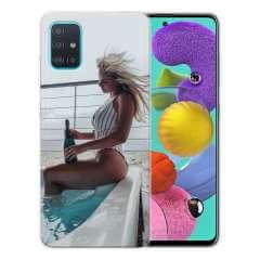 TPU Hoesje Samsung Galaxy A51 met eigen foto