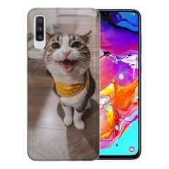 TPU Hoesje Samsung Galaxy A70 met eigen foto