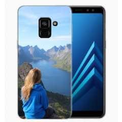 TPU Hoesje Samsung Galaxy A8 (2018) met eigen foto