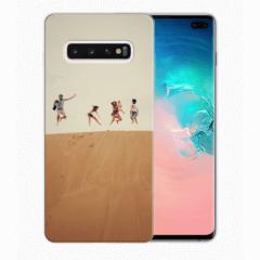 TPU Hoesje Samsung Galaxy S10 Plus met eigen foto