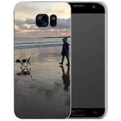 TPU Hoesje Samsung Galaxy S7 Edge met eigen foto