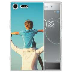 TPU Hoesje Sony Xperia XZ Premium met eigen foto