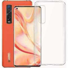 TPU-Silicone Backcase OPPO Find X2 Pro Hoesje Transparant