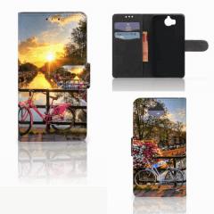 Boekhoesje Huawei Y5 | Y6 2017 met eigen foto