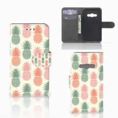 Samsung Galaxy Xcover 3 | Xcover 3 VE Book Cover Ananas