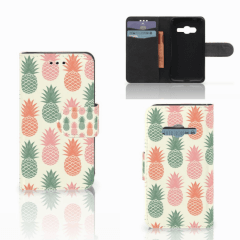 Samsung Galaxy Trend 2 Book Cover Ananas