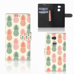 Sony Xperia XA2 Ultra Book Cover Ananas