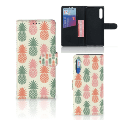 Huawei P Smart Pro Book Cover Ananas
