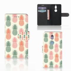Nokia 7 Book Cover Ananas