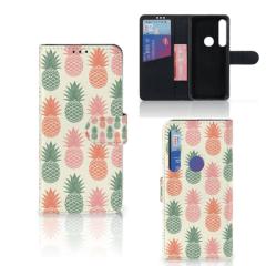Motorola Moto G8 Plus Book Cover Ananas