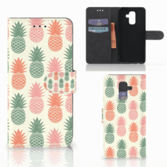 Samsung Galaxy A6 Plus 2018 Book Cover Ananas