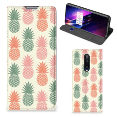 OnePlus 8 Flip Style Cover Ananas