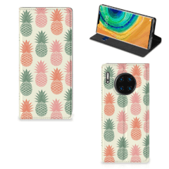 Huawei Mate 30 Pro Flip Style Cover Ananas