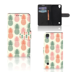 LG X Style Book Cover Ananas