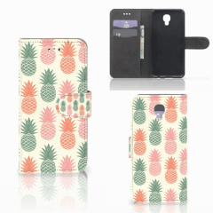 LG X Screen Book Cover Ananas