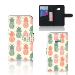 Samsung Galaxy Xcover 4   Xcover 4s Book Cover Ananas