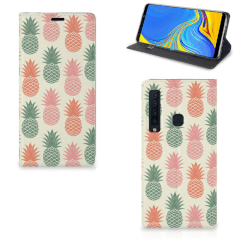 Samsung Galaxy A9 (2018) Flip Style Cover Ananas