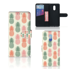 OnePlus 6T Book Cover Ananas