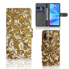 Wallet Case Huawei P30 Lite (2020) Barok Goud