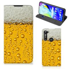 Motorola Moto G8 Power Flip Style Cover Bier