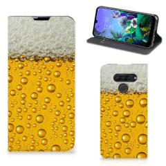 LG Q60 Flip Style Cover Bier